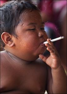 Laat kinderen rookvrij opgroeien